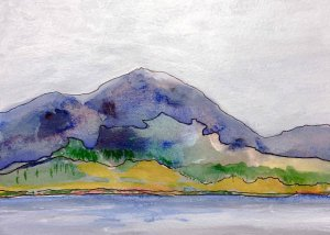 "Painting ""Across Loch Torridon"""