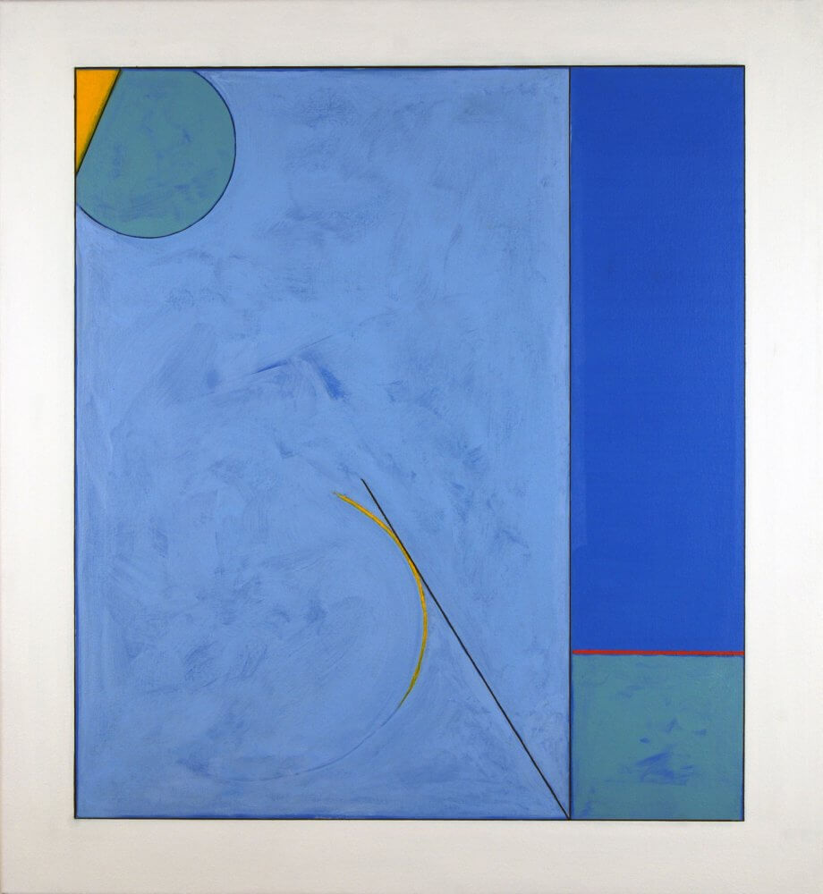 """Elegiac Melodies""; Acrylic on canvas; 72 x 66 cms; original artwork for sale £400"