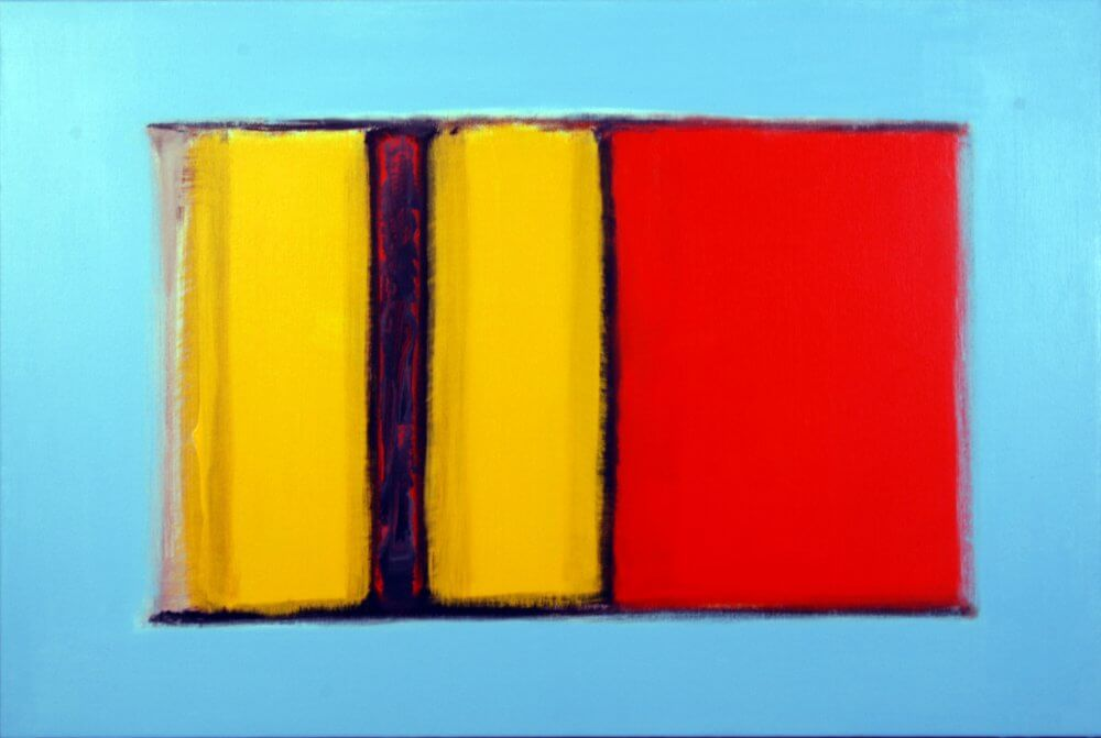 """Max Richter's Summer""; Acrylic on canvas. 50 x 76 cms; original artwork for sale £250"