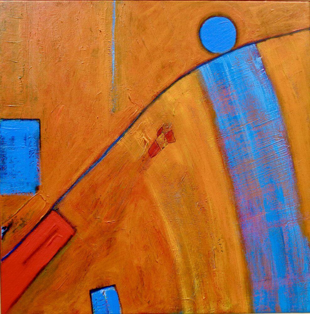 Painting of The Myth of Sisyphus